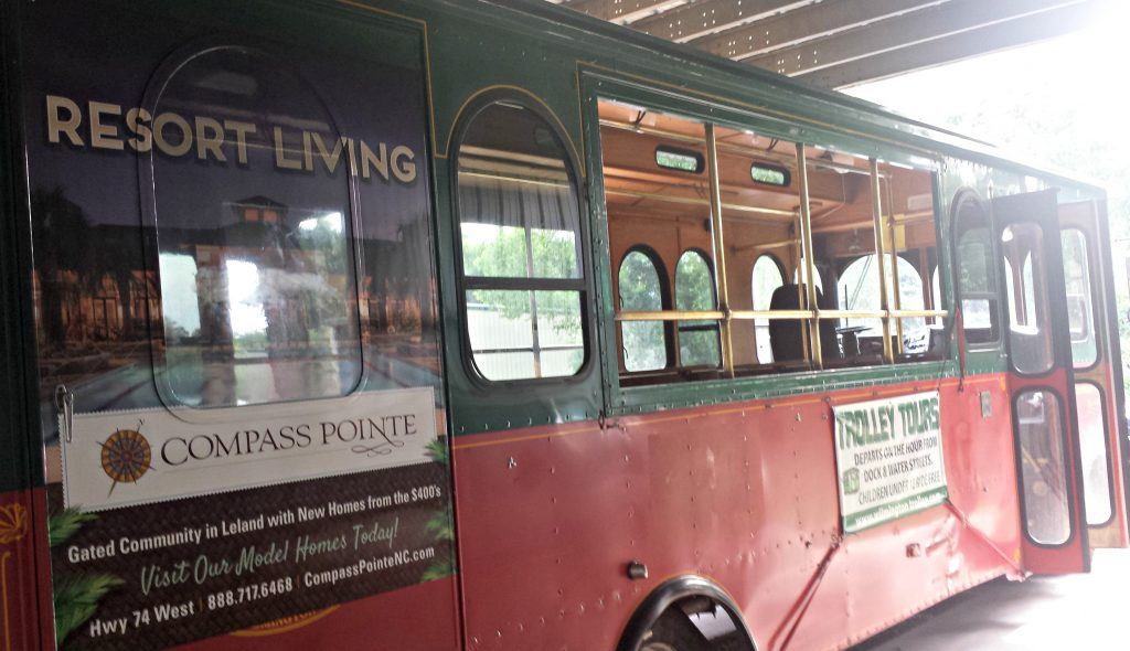 Wilmington Trolley Advertising