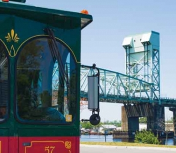 Downtown Wilmington Trolley Advertising
