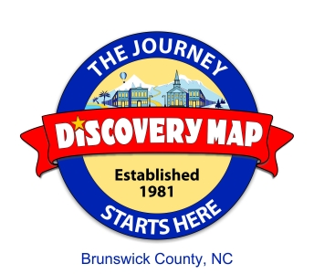 Discovery Map of Brunswick County, NC